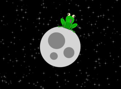 Froggy To The Moon